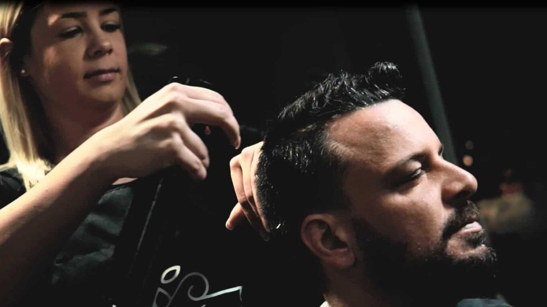 férfi frizuráról