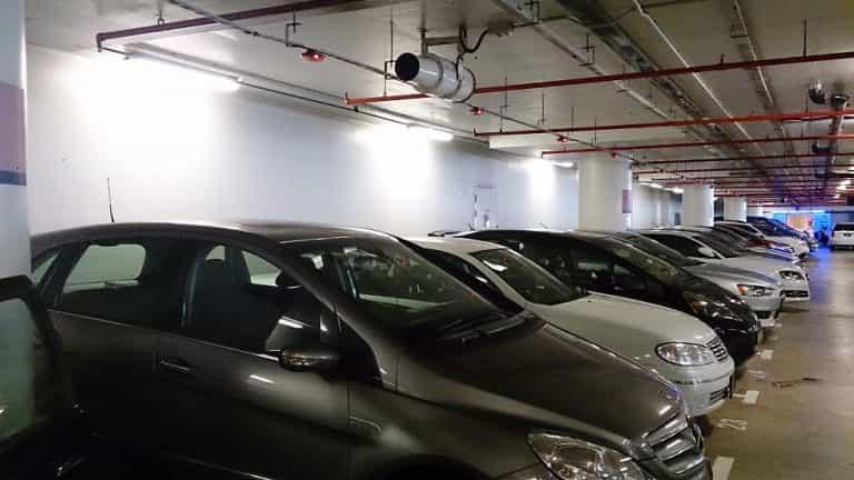 fedett parkoló Ferihegy